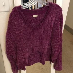 Urban Outfitters Chenille High-Low Sweater